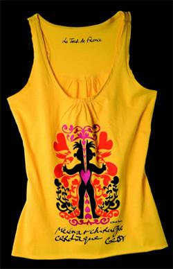 El maillot amarillo y solidario de Christian Lacroix