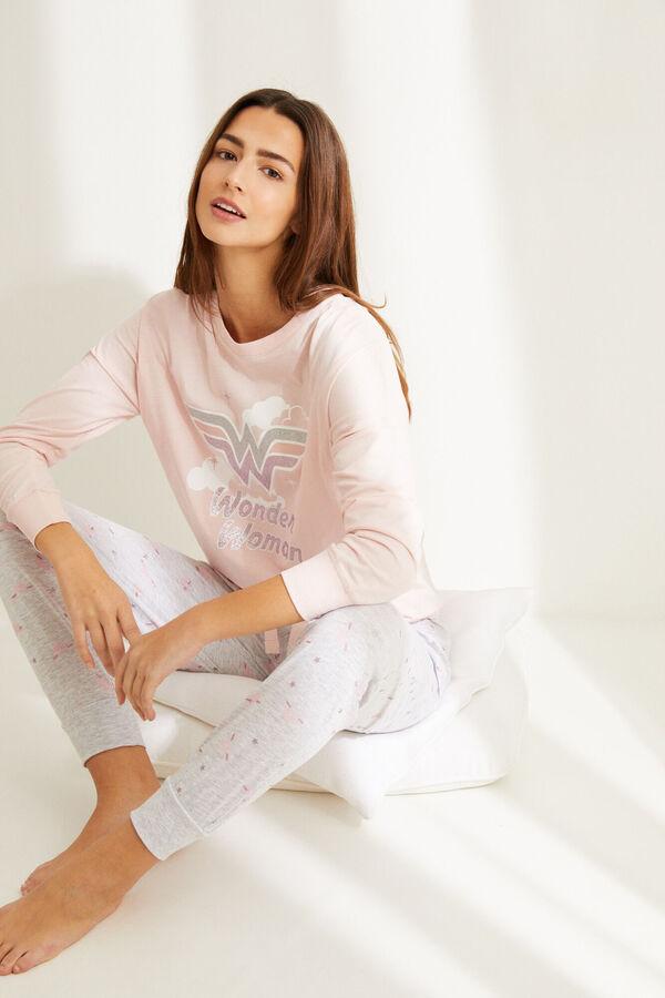 Pijama de algodón de Wonder Woman