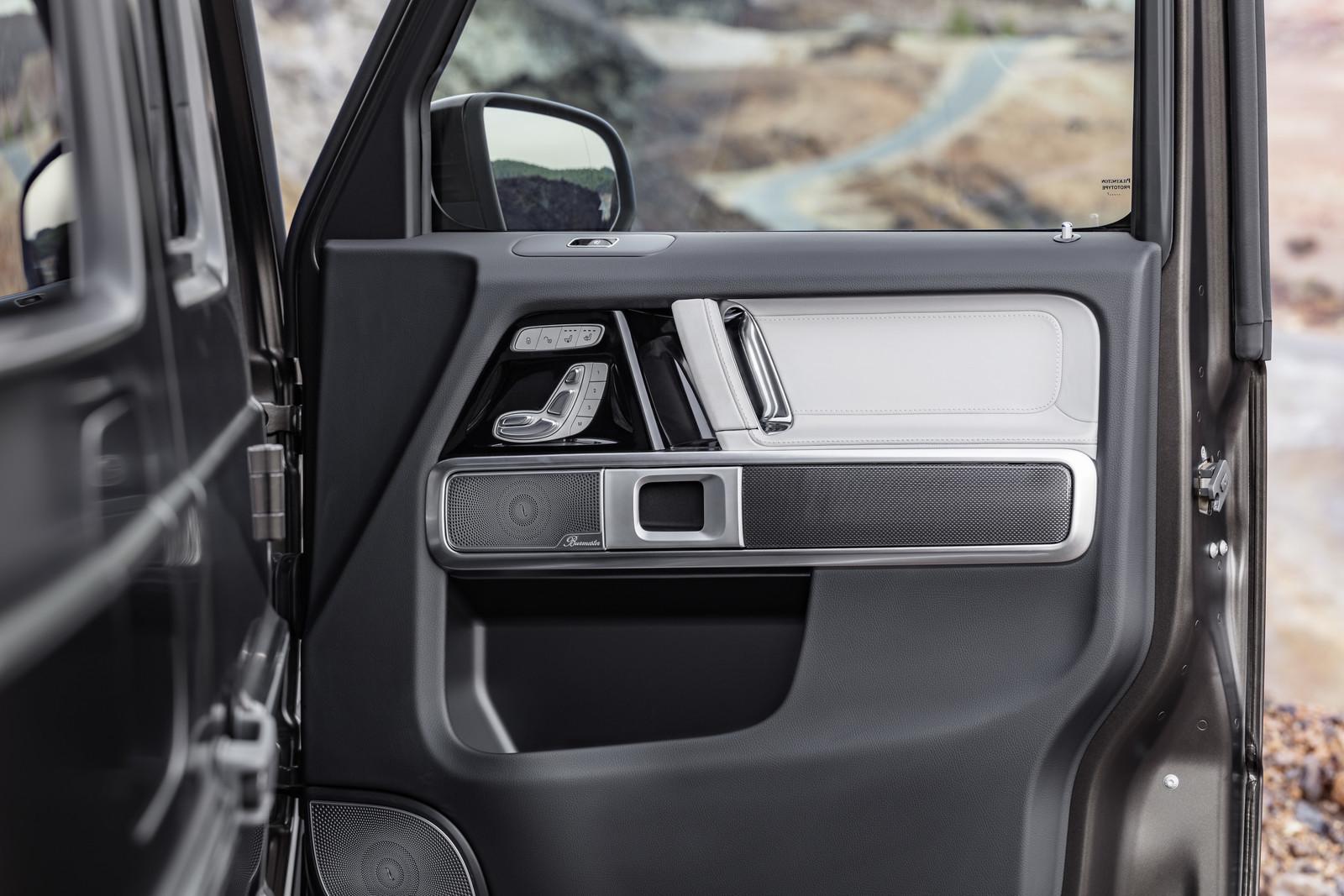 Foto de Mercedes-Benz Clase G 2018 - Interior (9/10)