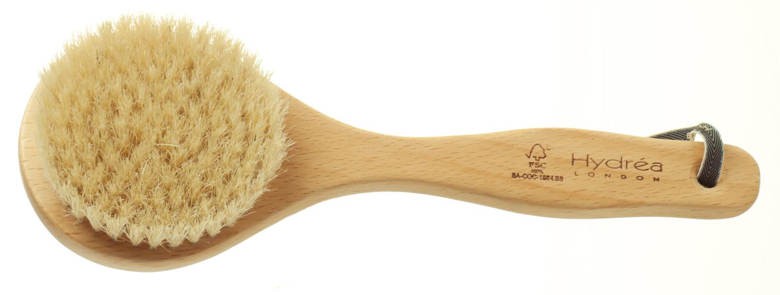 Classic Short Handled Body Brush Hydrea London