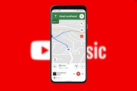 Google Maps comienza a integrarse con YouTube Music para reproducir música mientras navegas