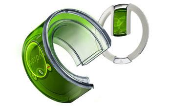 Nokia presenta los celulares de pulsera