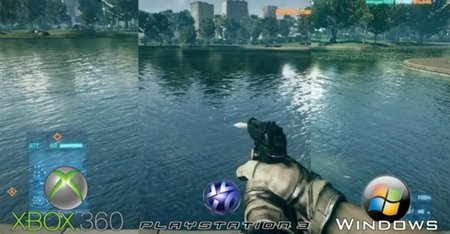 Comparativa gráfica de 'Battlefield 3'. PC vs PS3 vs Xbox 360