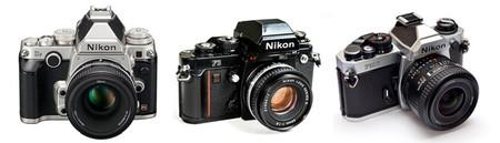 Nikon Df - Nikon F3 - Nikon FM2