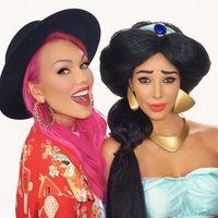 El día que Kim Kardashian se convirtió en la princesa Jasmine y nos dejó flipadas