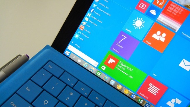 Windows10 Surface