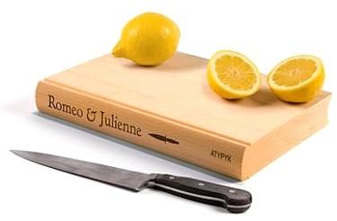 Tabla Romeo y Julieta, digo, Juliana; para él y para ella.