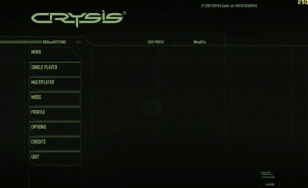 Crysis intro