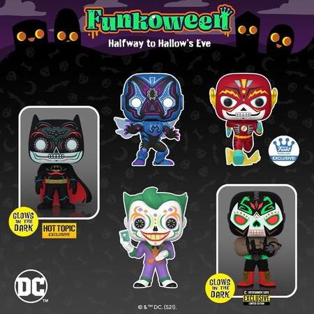 Nuevos Funko POP de DC Comics del Día de los Muertos en preventa con Amazon México