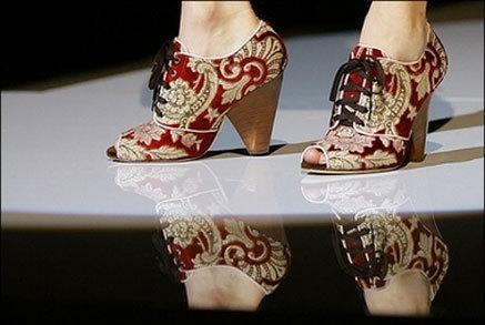 El calzado de Dolce&Gabbana Primavera/Verano 2008