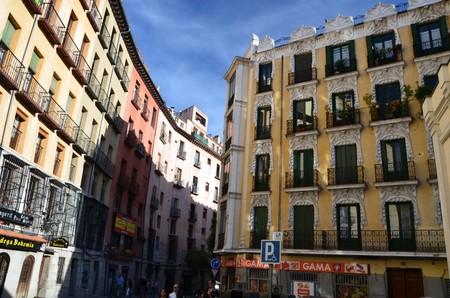 Madrid Spain Architecture City Cityscape Tower Building Landmark 1242380