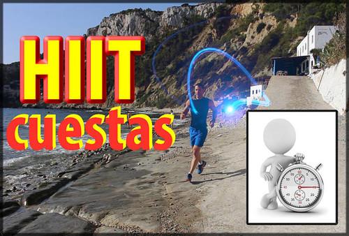 HIIT - Cuestas de sprints repetidos en pendiente