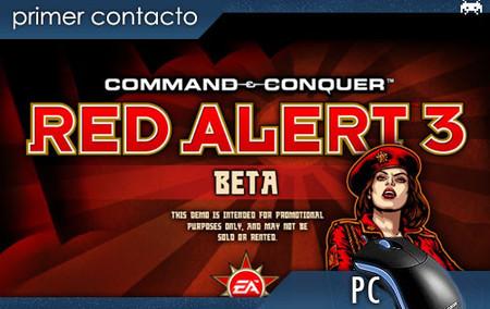'Red Alert 3', primer contacto con la beta