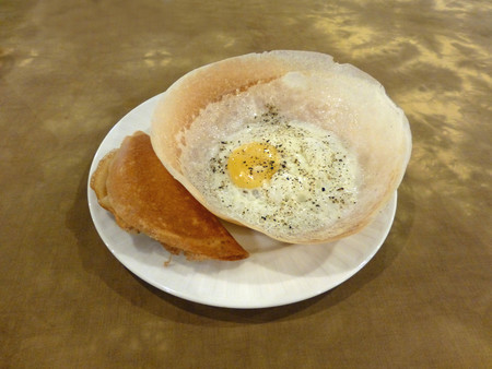 Sri Lanka Egg Hoppers