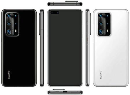 Huawei P40 Pro, esta es la mejor imagen que se ha filtrado hasta ahora: no seis sino SIETE cámaras para el nuevo flagship