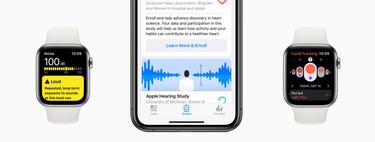 Audición, salud femenina y movilidad y corazón: estos son los tres nuevos estudios médicos lanzados por Apple