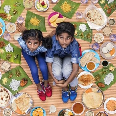 Así se ven los niños de todo el mundo fotografiados junto a su dieta semanal