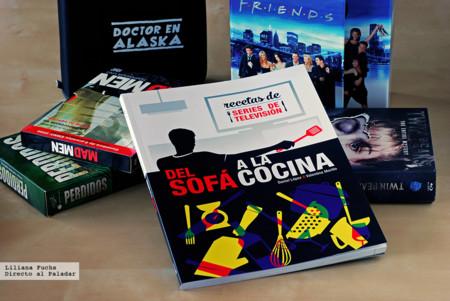 Del Sofá a la Cocina. Recetas de series de televisión. Libro de cocina