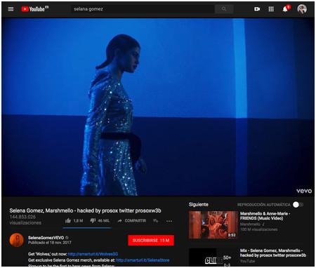 6 Selena Gomez Marshmello Hacked By Prosox Twitter Prosoxw3b Youtube 2018 04 10 13 12 46