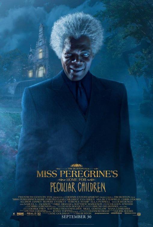 Foto de Carteles de 'El hogar de Miss Peregrine para niños peculiares' (10/19)