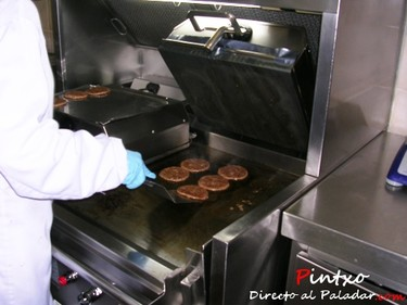 Visita a la fábrica de hamburguesas de McDonald´s, y II