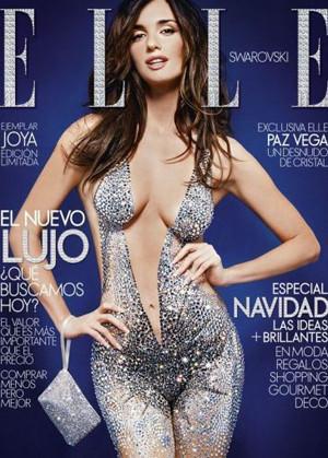 Paz Vega y su desnudo cristalino en Elle