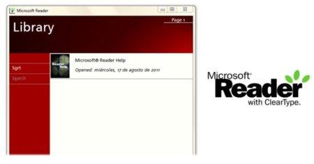 Microsoft Reader, el servicio de libros electrónicos de Redmond, es dado de baja