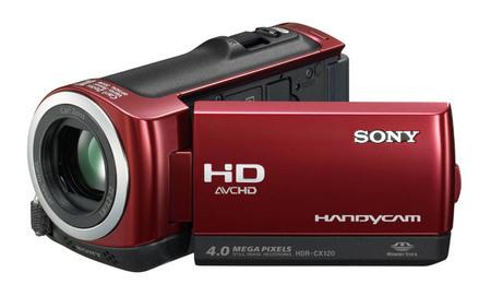 Sony HDR-CX120, videocámara con detección de rostros