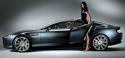 Aston Martin Rapide, nuevas imágenes