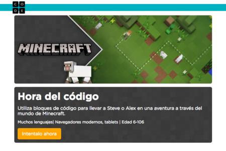 Minecraft en Hora del Código