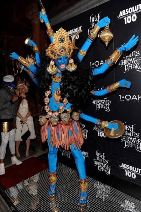 Heidi Klum Halloween Costume Sheeva 3