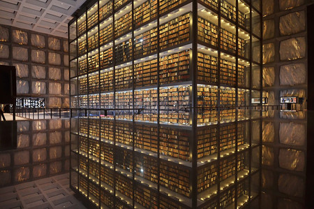 Beinecke Rare Book Manuscript Library Yale University Connecticut Usa