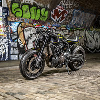 ¡Asfalto y barro! Esta Yamaha XSR700 Yard Built de Rough Crafts puede con todo