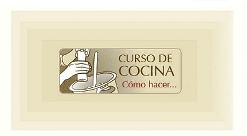 Curso de cocina ndice for Curso cocina basica