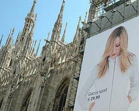 Madonna y H&M por todos lados