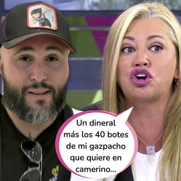 Kiko Rivera miente: Belén Esteban pone cifra al dineral que el hijo de Isabel Pantoja pidió para sentarse una vez más en el 'Deluxe'