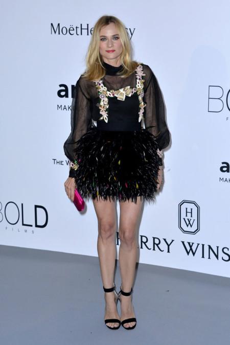 Diane Kruger Amfar Cannes 2015