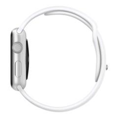 Foto 2 de 3 de la galería apple-watch-sport-aluminio-en-plata-y-correa-deportiva-blanca en Compradicción