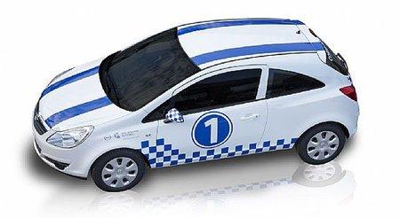Opel Corsa Edición Limitada Real Sociedad. ¿Se puede hacer un coche más feo?