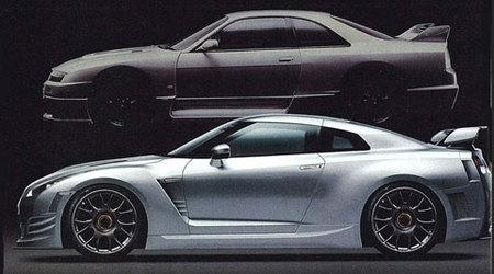 Nissan GT-R Le Mans Edition render