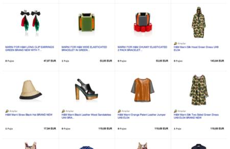 La colección de Marni para H&M ya está aquí y ya hay algunos sacando partido por Ebay