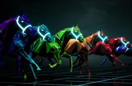 La última comidilla de los fanáticos de las criptomonedas son las carreras de caballos. Caballos digitales, claro