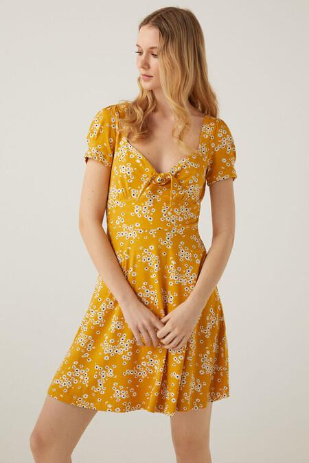 Vestido Corto Amarillo Springield