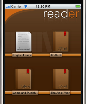 Reader, un estupendo gestor de documentos para iPhone e iPod Touch