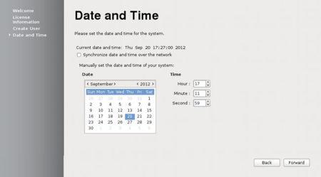 Fedora 18 ajustes de tiempo