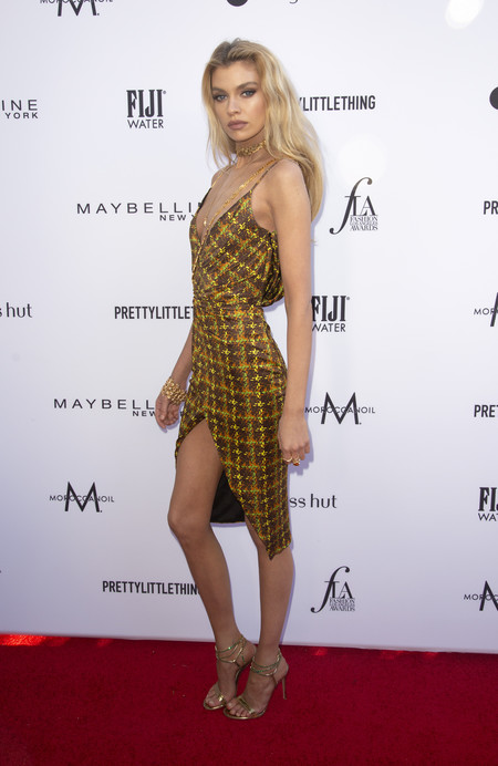 Stella Maxwell daily front row red carpet