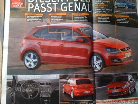 Volkswagen Polo 2009, primeras fotos filtradas
