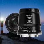 TTartisan 17mm f/1.4 APS-C, nueva óptica manual, fija y luminosa para mirrorless de formato recortado por sólo 118 dólares
