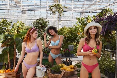 Tezenis lanza una colección de sujetadores a todo color, de encaje reciclado y perfectos para la primavera