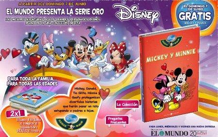 Colección de libros de Disney con El Mundo